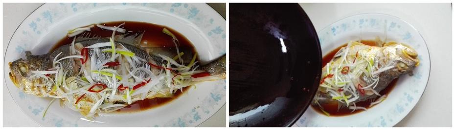 清蒸黄鱼、清蒸比目鱼