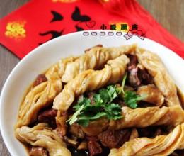 羊肉粘卷子--陕西菜