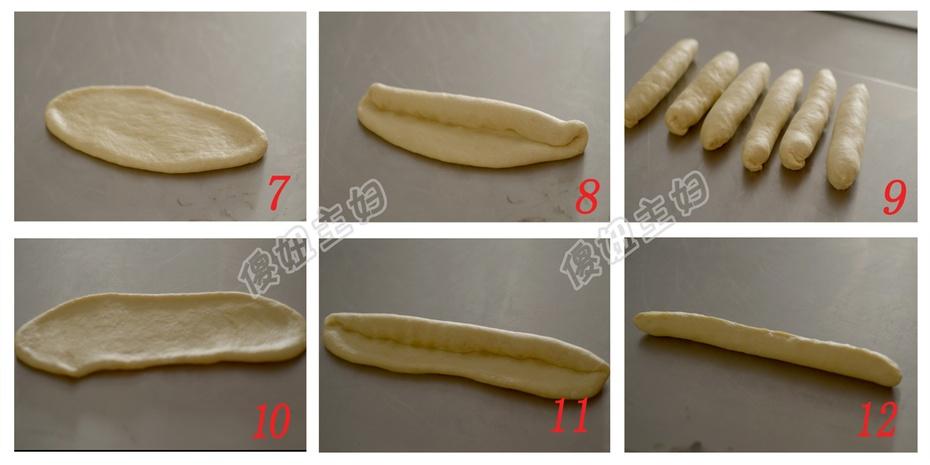酸奶排包---拉丝的面包