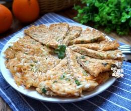 香煎虾饼--补钙菜