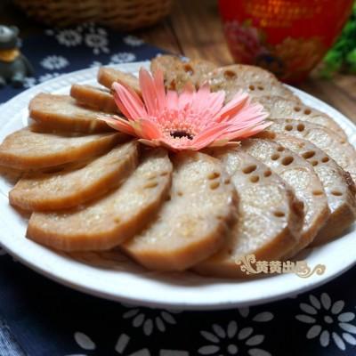 紅糖糯米藕