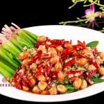 凉拌花生米菠菜