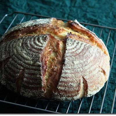 玉米乡村面包