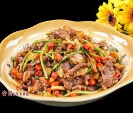 小炒黑山羊--湘菜