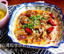炝锅剁椒米线