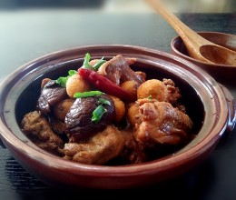 香菇栗子啤酒鸡