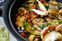 焖汁什锦海鲜锅(自制万能焖汁)