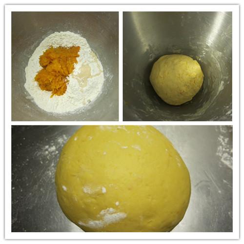 南瓜香豆子扭扭卷
