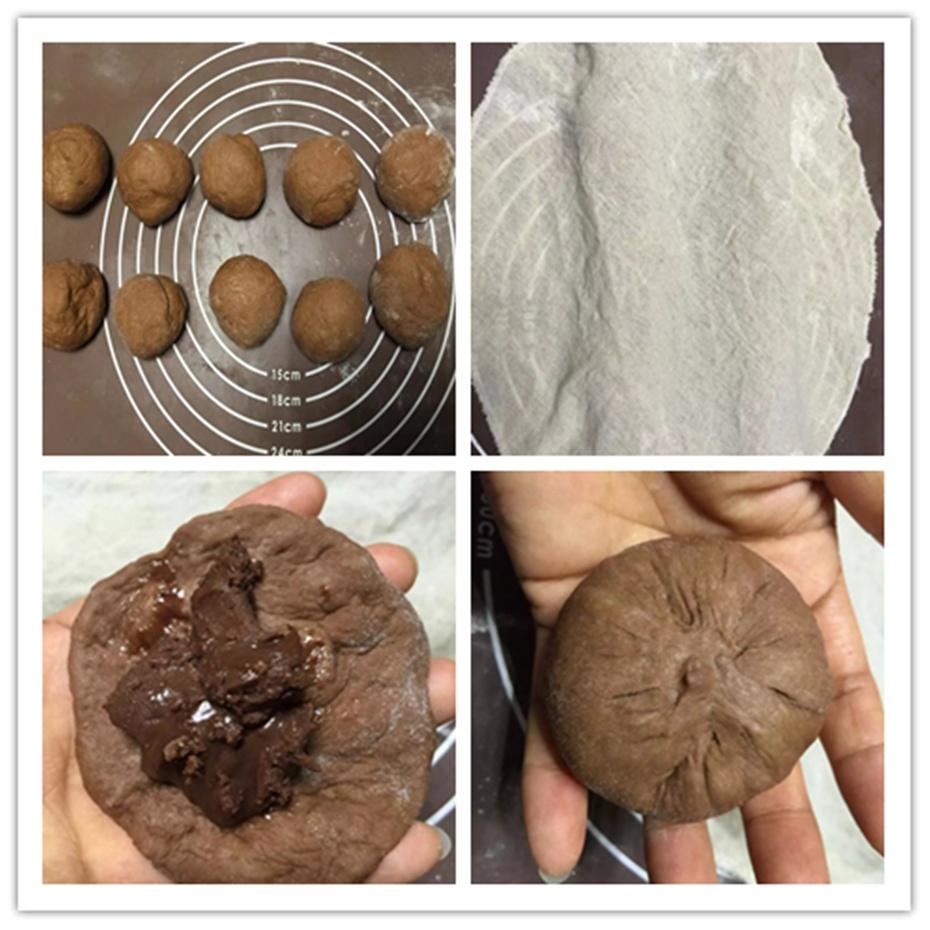 爆浆巧克力面包