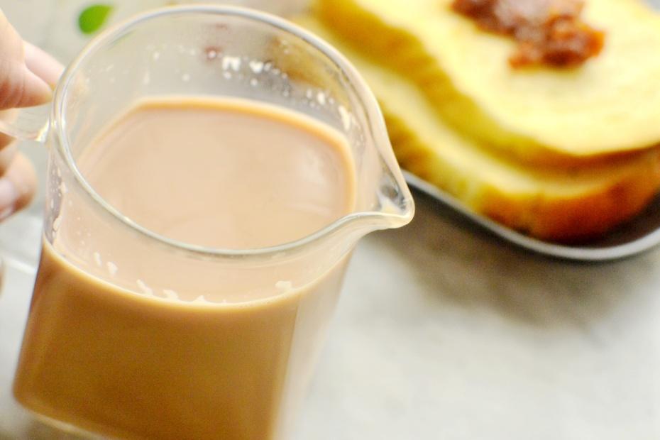 自制奶茶-豆浆机版5分钟就可以