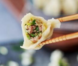 槐花猪肉水饺
