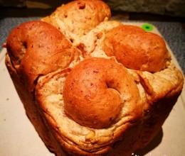 核桃麦麸面包