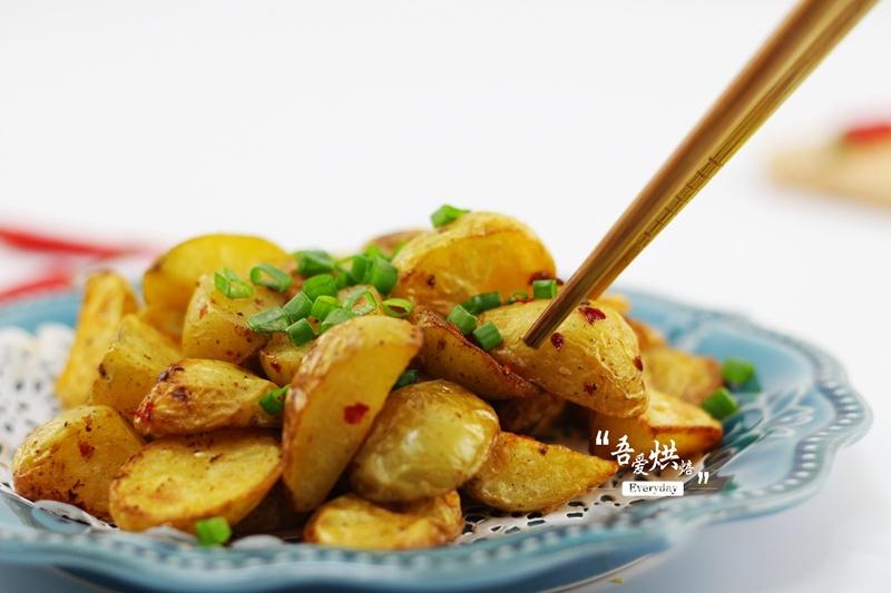 空气炸锅烤薯角