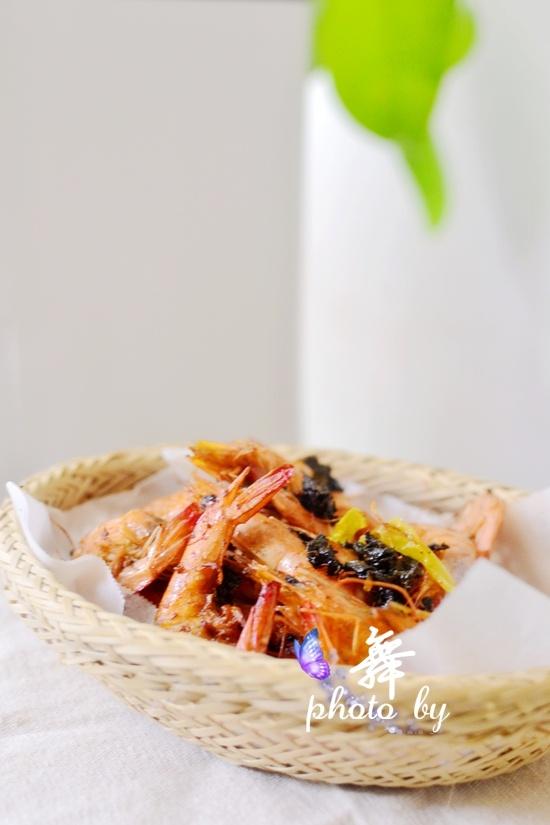 空气炸锅茶香烤虾