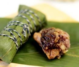 杂粮养生粽子的做法和配料