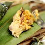 香菇肉粽子