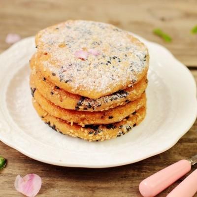 紫薯南瓜米饼
