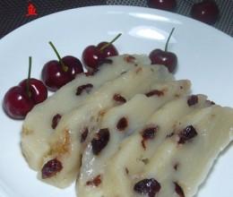 蔓越莓椰香凉糕