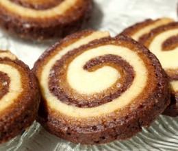 三色旋纹饼干