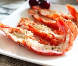 黑椒烤红虾