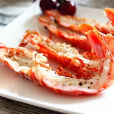 黑椒烤紅蝦