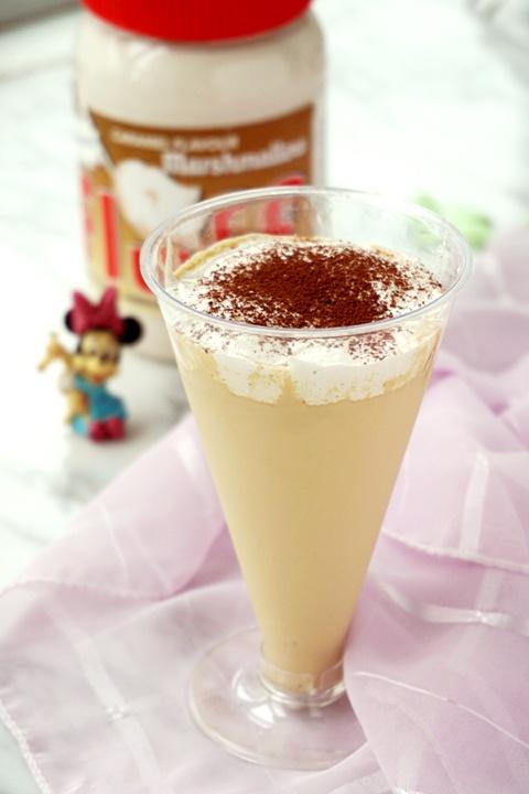法罗夫棉花糖咖啡奶昔