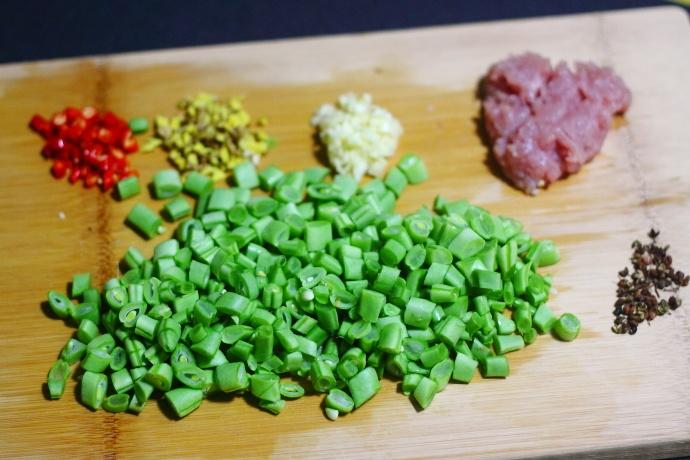 肉末橄榄四季豆