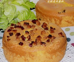 红枣戚风蛋糕