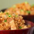 电饭锅美食-金蒜萝卜饭