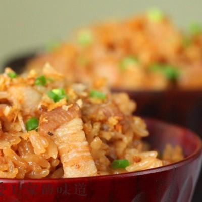 電飯鍋美食-金蒜蘿卜飯