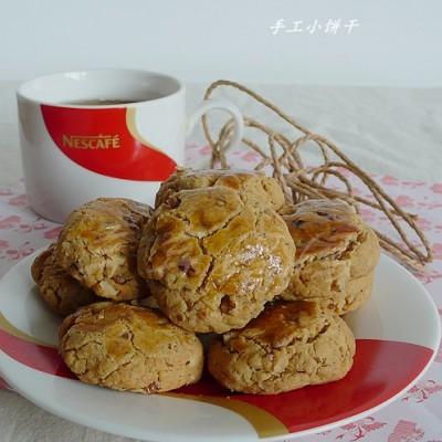 米粉核桃仁酥饼