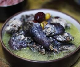 秋冬养生-乌鸡板栗汤