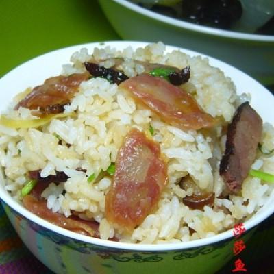 广式腊肉饭