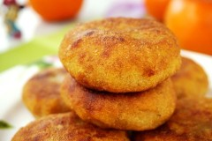 豆沙柿子饼