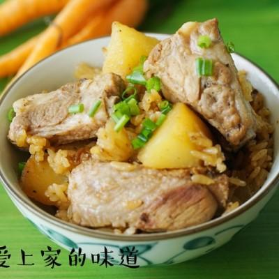 電飯鍋食譜-排骨燜飯