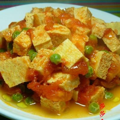 茄汁冻豆腐