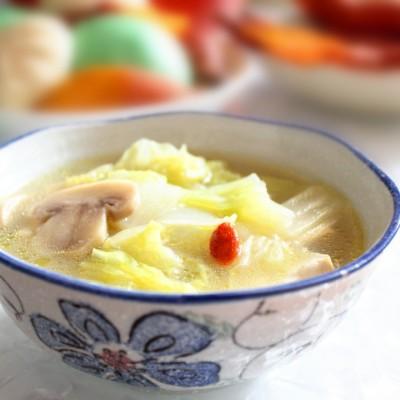 清水白菜豆腐