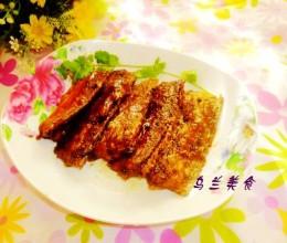 红烧带鱼段