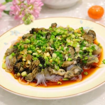 微波爐做清蒸魔芋牡蠣