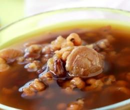 红豆薏米桂圆养颜汤