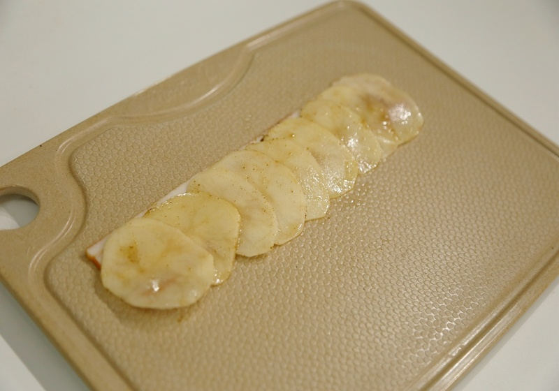 土豆培根玫瑰卷