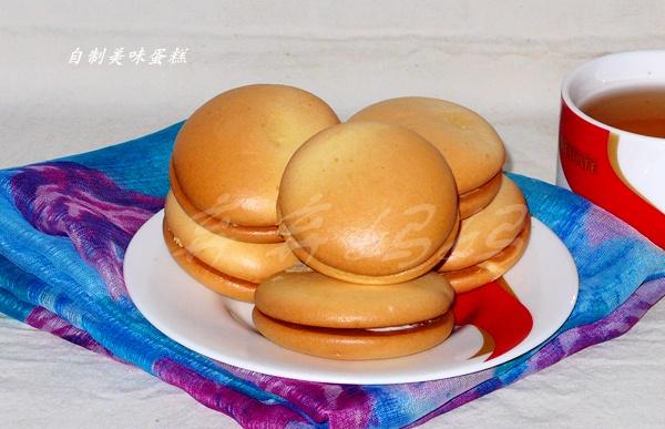 肉松酸奶夹心蛋糕