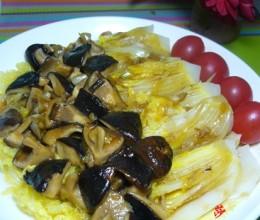 蚝油香菇娃娃菜