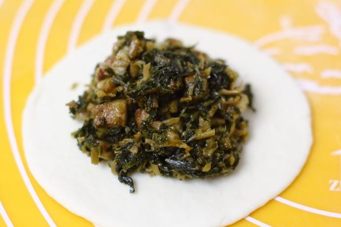 梅干菜肉包