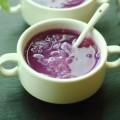 紫薯銀耳百合湯-清熱潤肺