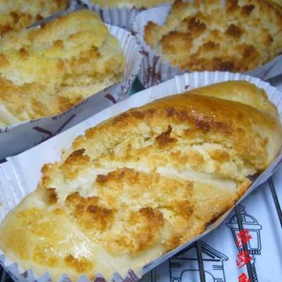 椰蓉紙托面包