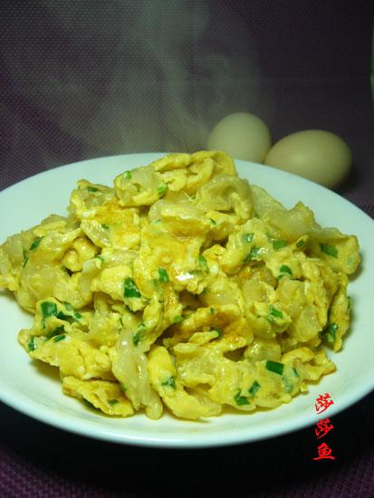 花胶炒鸡蛋