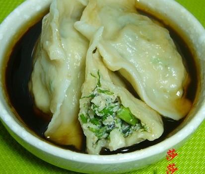 茴香馅饺子