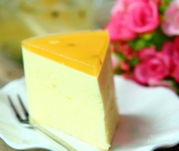 百香果慕斯蛋糕