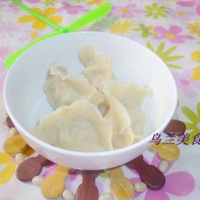 槐花豬肉餡餃子
